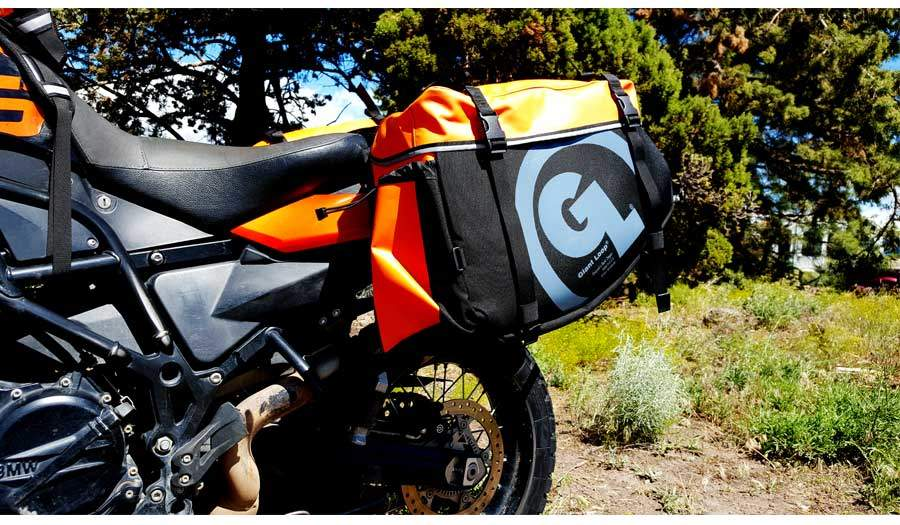 Limited edition siskiyou pannier in orange