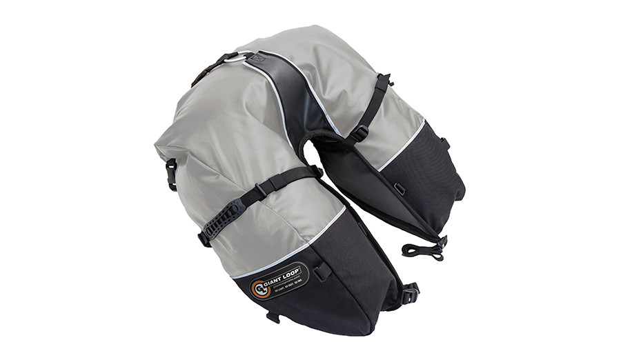 CSB17-RT-G Coyote Saddlebag Roll Top Gray