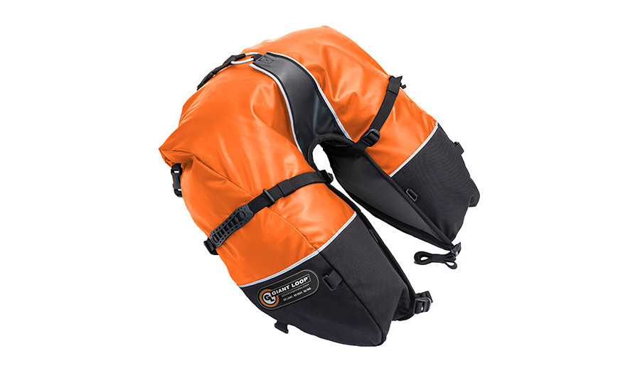CSB17-RT-O Coyote Saddlebag Roll Top Orange
