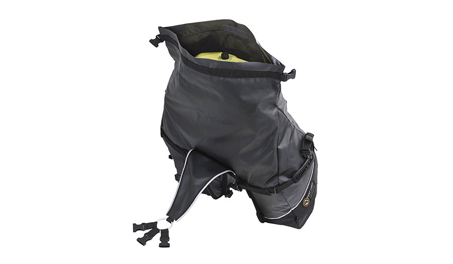 Great Basin Saddlebag-Roll Top opening