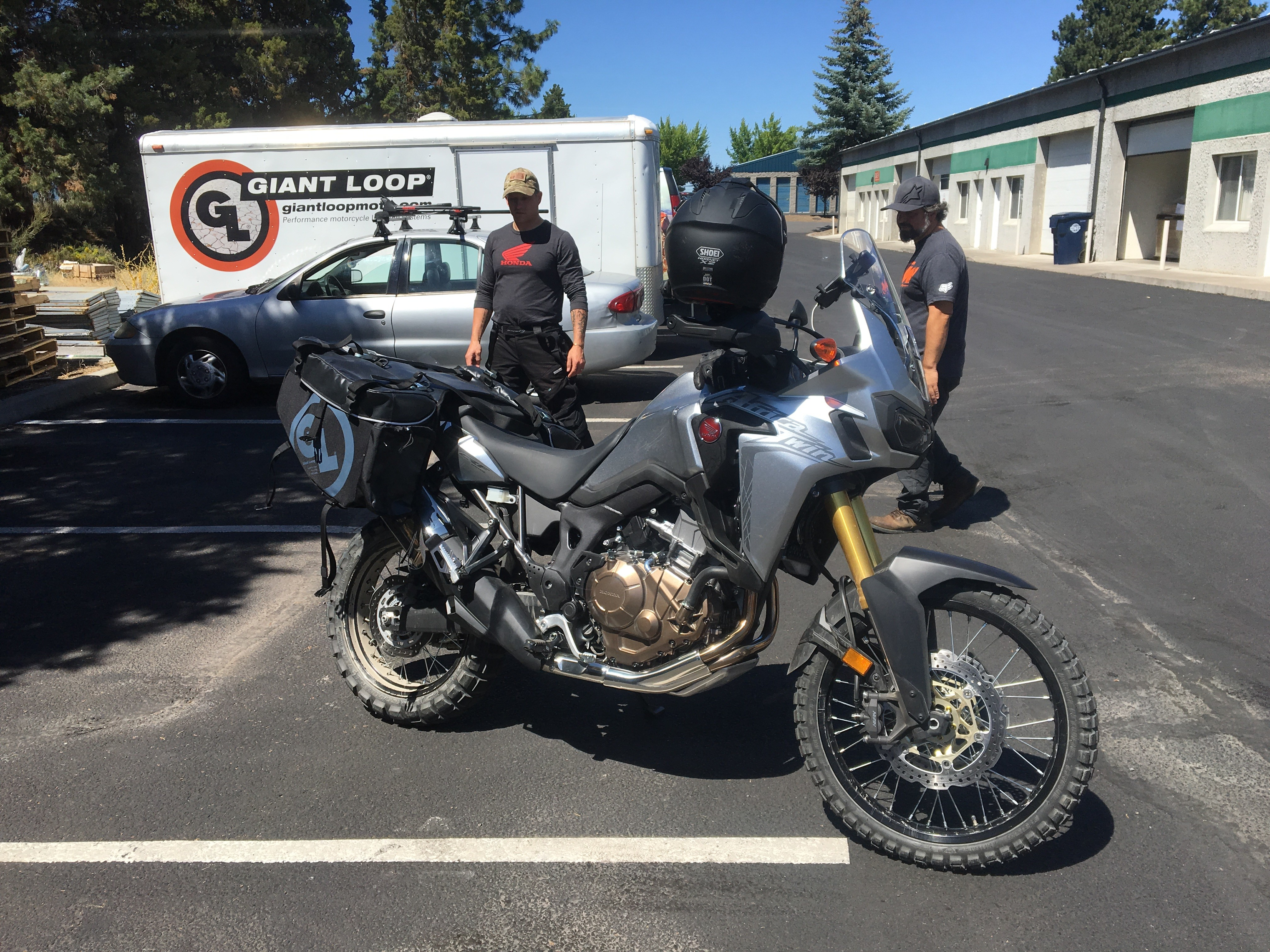 Siskiyou panniers archives giant loop finally getting the opportunity to do some fitting on the new honda africa twin this customer rode over the cascades from oregons willamette valley to our thecheapjerseys Choice Image