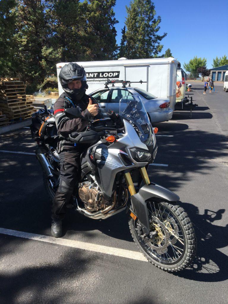 Honda Of Bend >> Giant Loop's Motorcycle Soft Luggage & Gear On Honda Africa Twin - Giant Loop