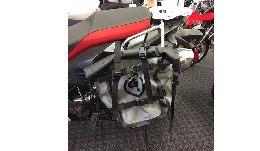 BMW F800GS Adventure with Giant Loop's MotoTrekk Panniers