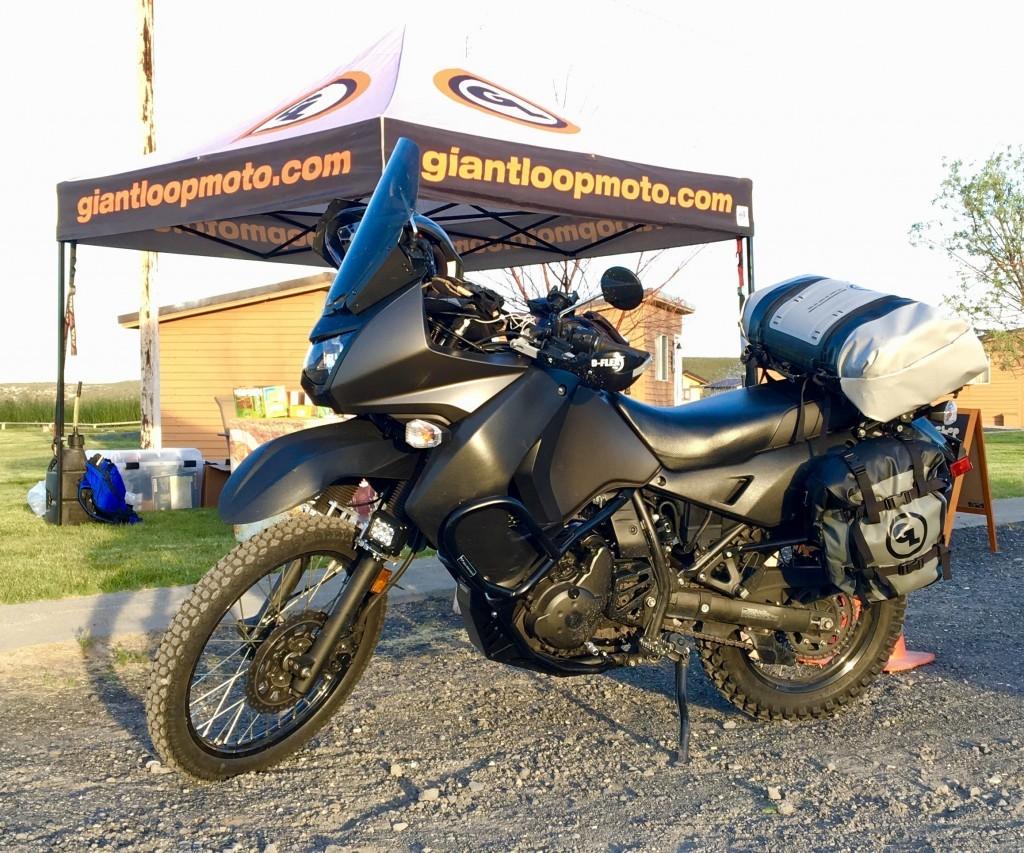 Giant Loop MotoTrekk Panniers motorcycle soft luggage
