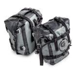 Giant Loop MotoTrekk Panniers waterproof rack-mounted soft luggage for motorcycles.