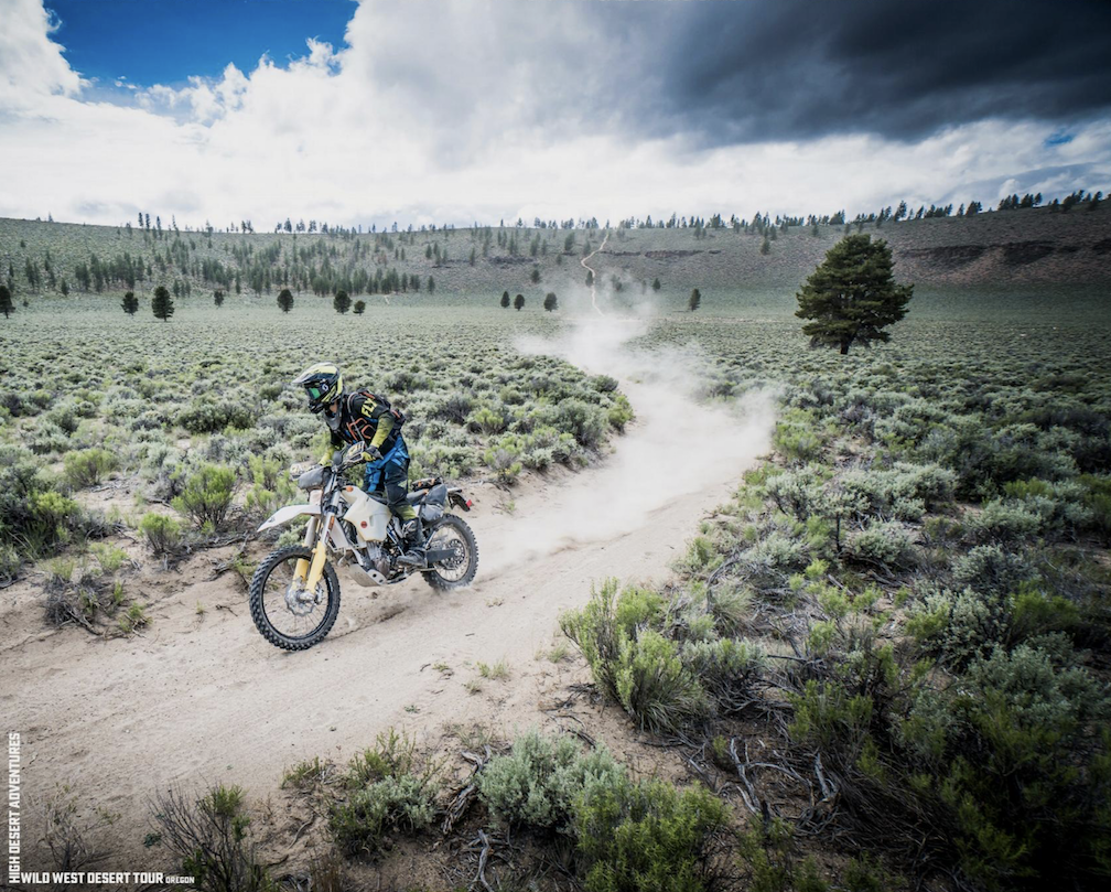 Riding Millican OHV Area with High Desert Adventures