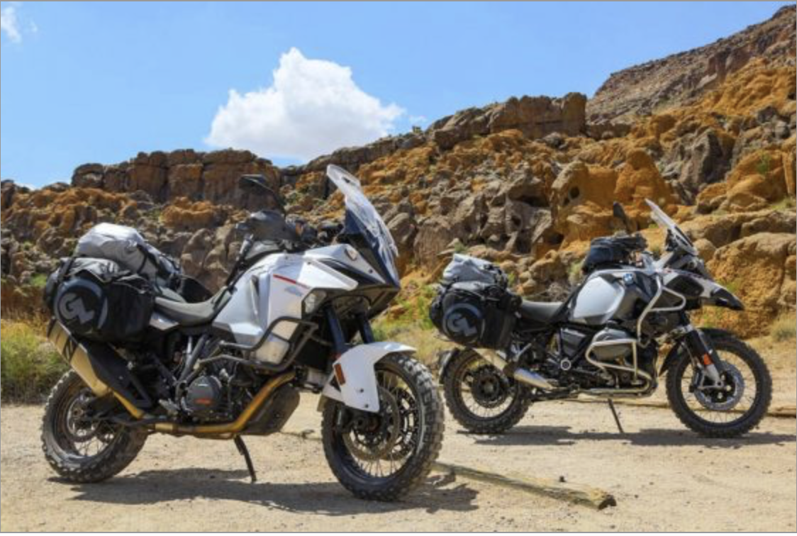 Siskiyou Panniers KTM 1290 Adventure BMW R1200GS Adventure