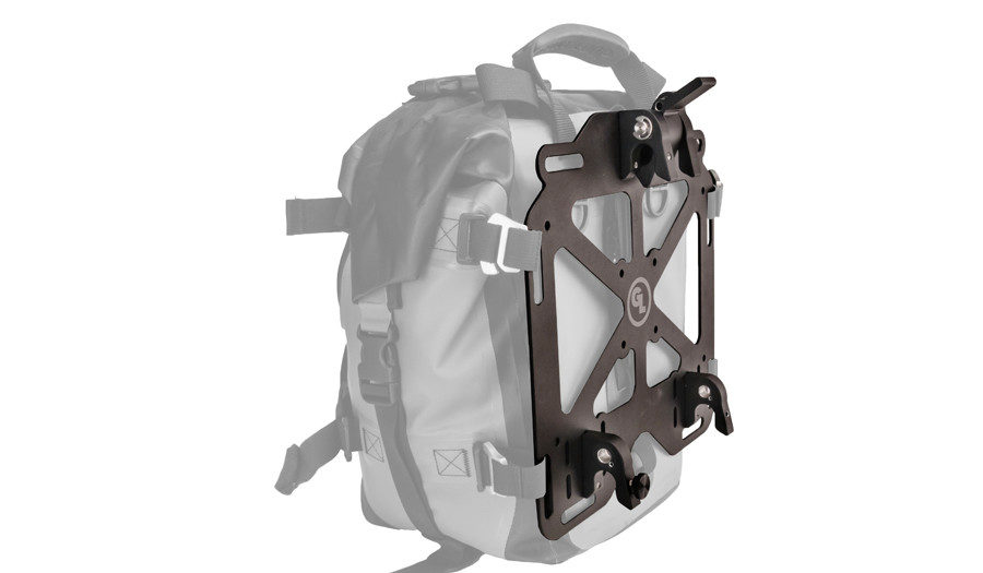 Giant Loop Pannier Mounts (PNMT) on Giant Loop Mototrekk Panniers (MTP)