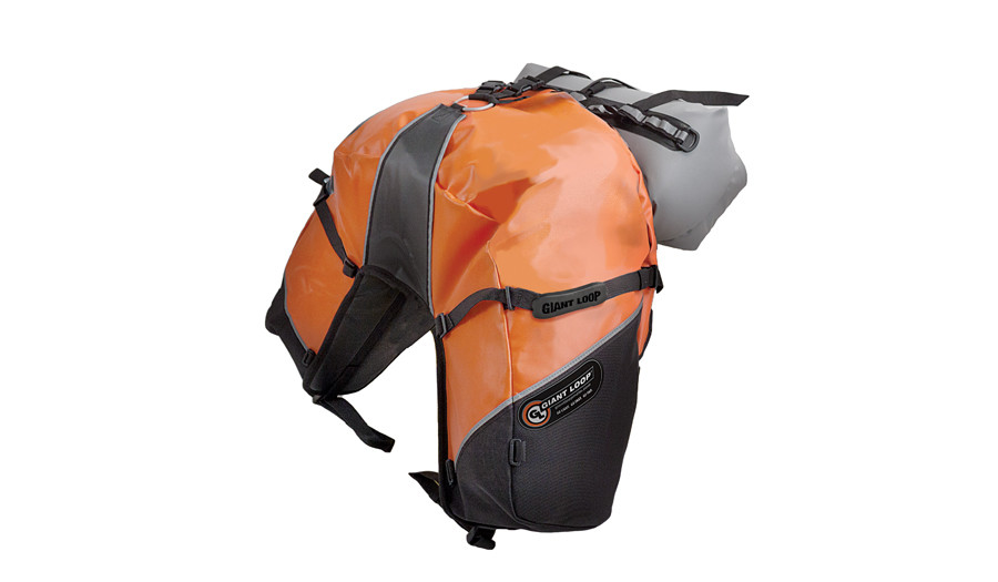 Great Basin Saddlebag Roll Top with Rogue Dry Bag