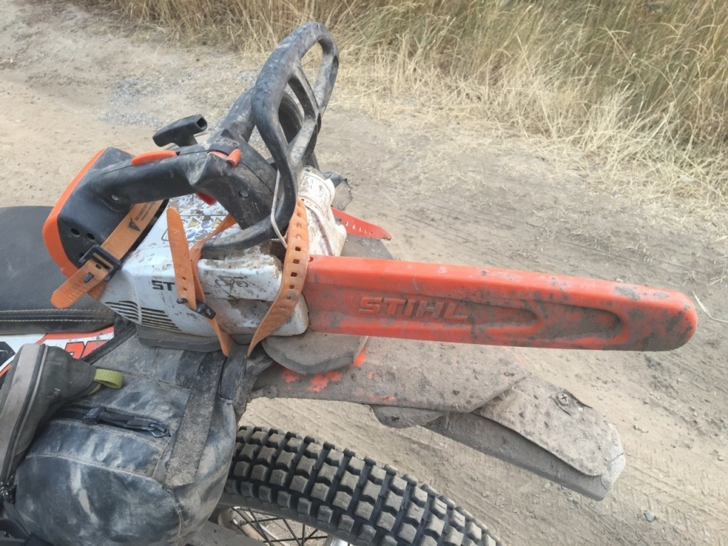 Pronghorn Straps and Chainsaw