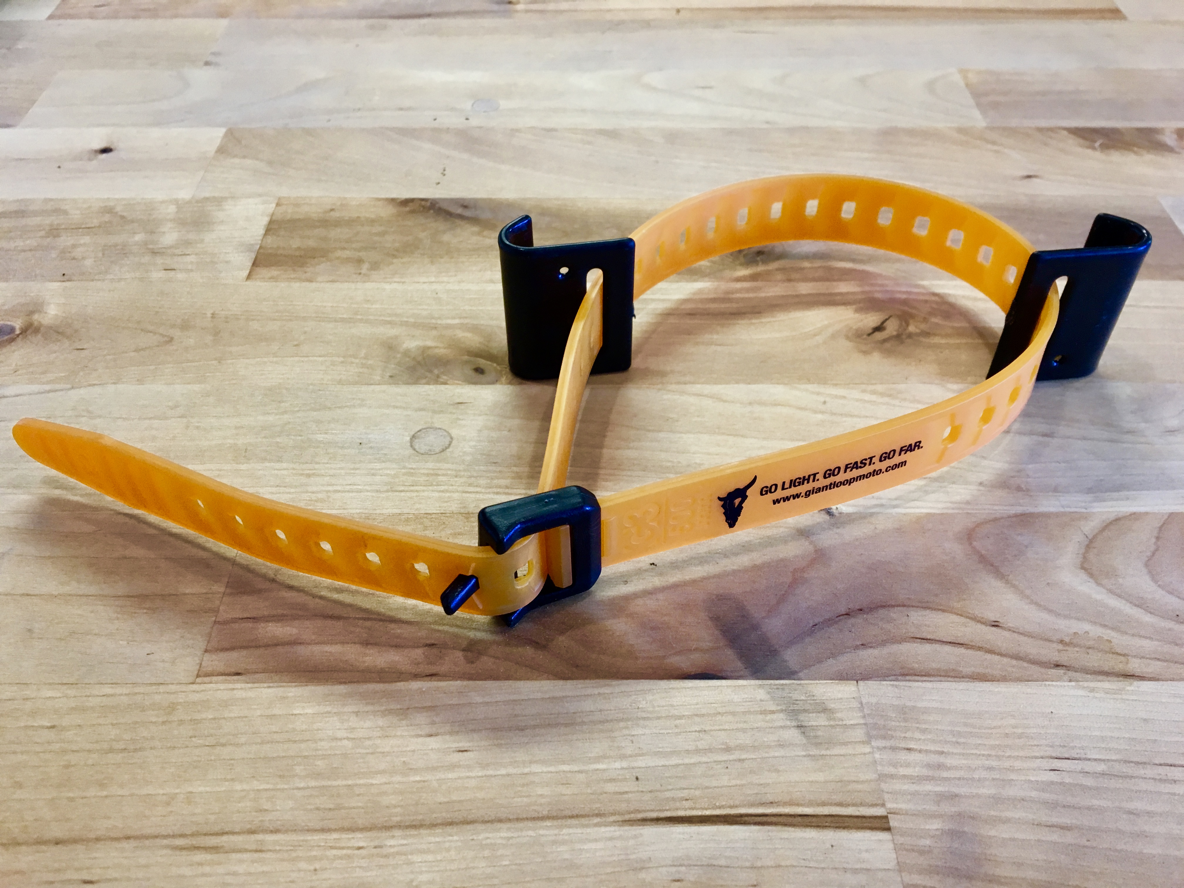 Giant Loop Fender Hooks with Pronghorn Strap