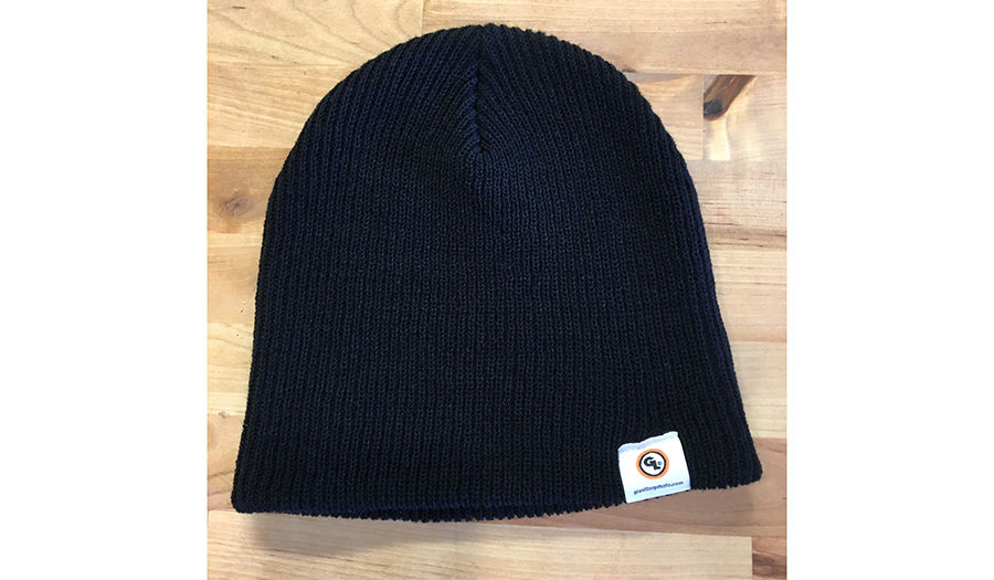 Giant Loop GL Beanie black knit cap