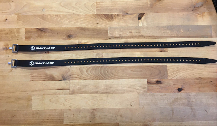 Giant Loop Snow Pronghorn Straps for snowmobile, snow bike and backcountry