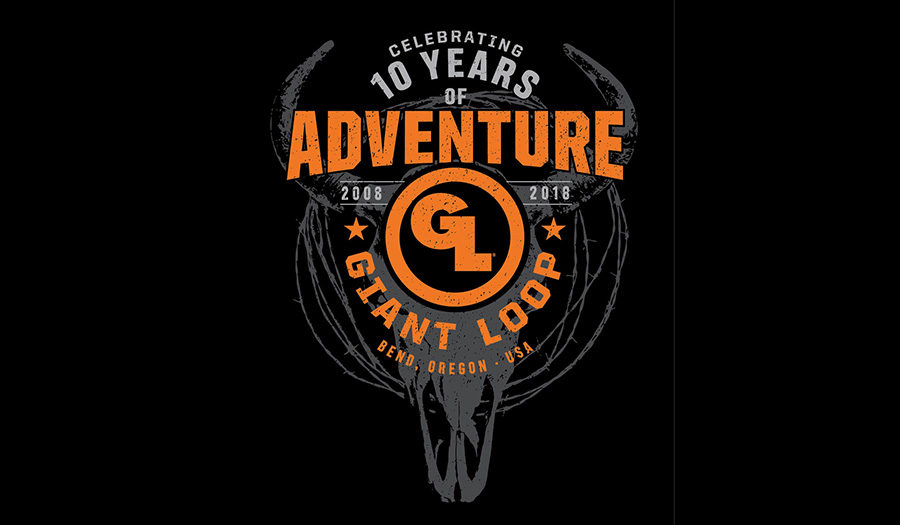 Giant Loop Decade of Adventure t-shirt