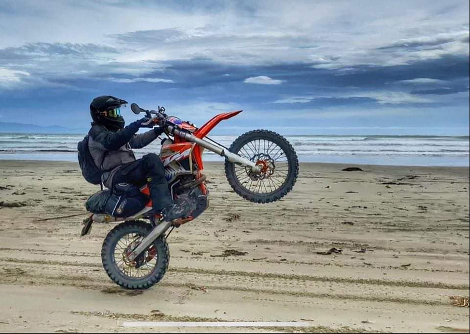 Round-The-World on a KTM 500 EXC