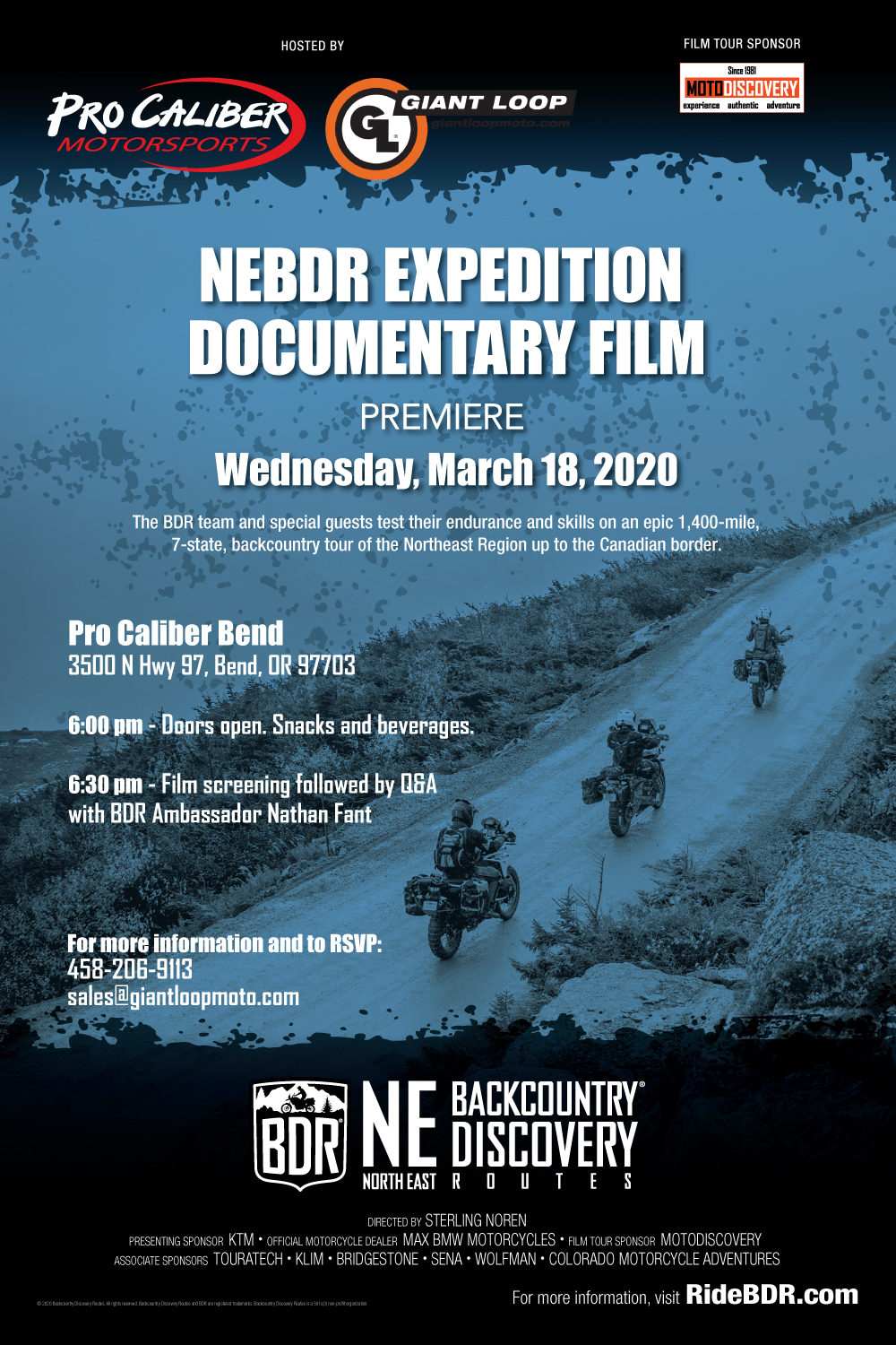 North East Backcountry Discovery Route film