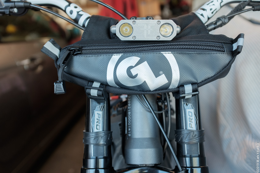 Zigzag Handlebar Bag Reviewed at Sur-Ron