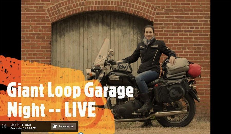 danell lynn giant loop garage night