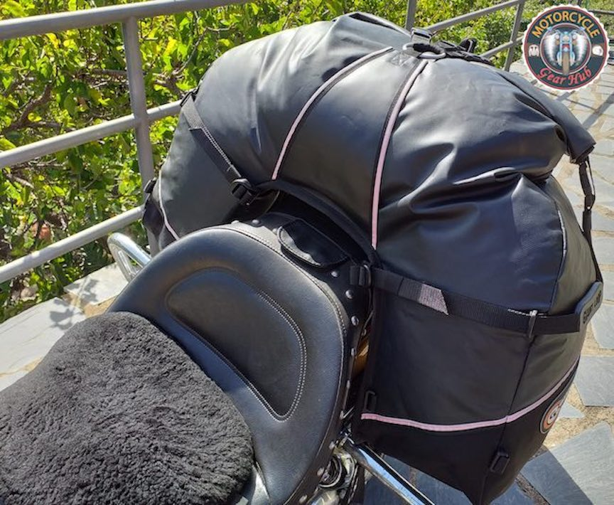 Great Basin Saddlebag Reviewed at Motorcycle Gear Hub