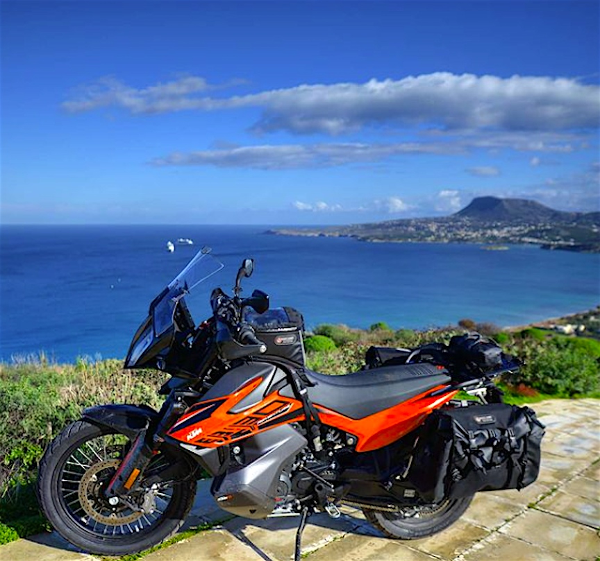 Round The World Panniers on the new KTM 890