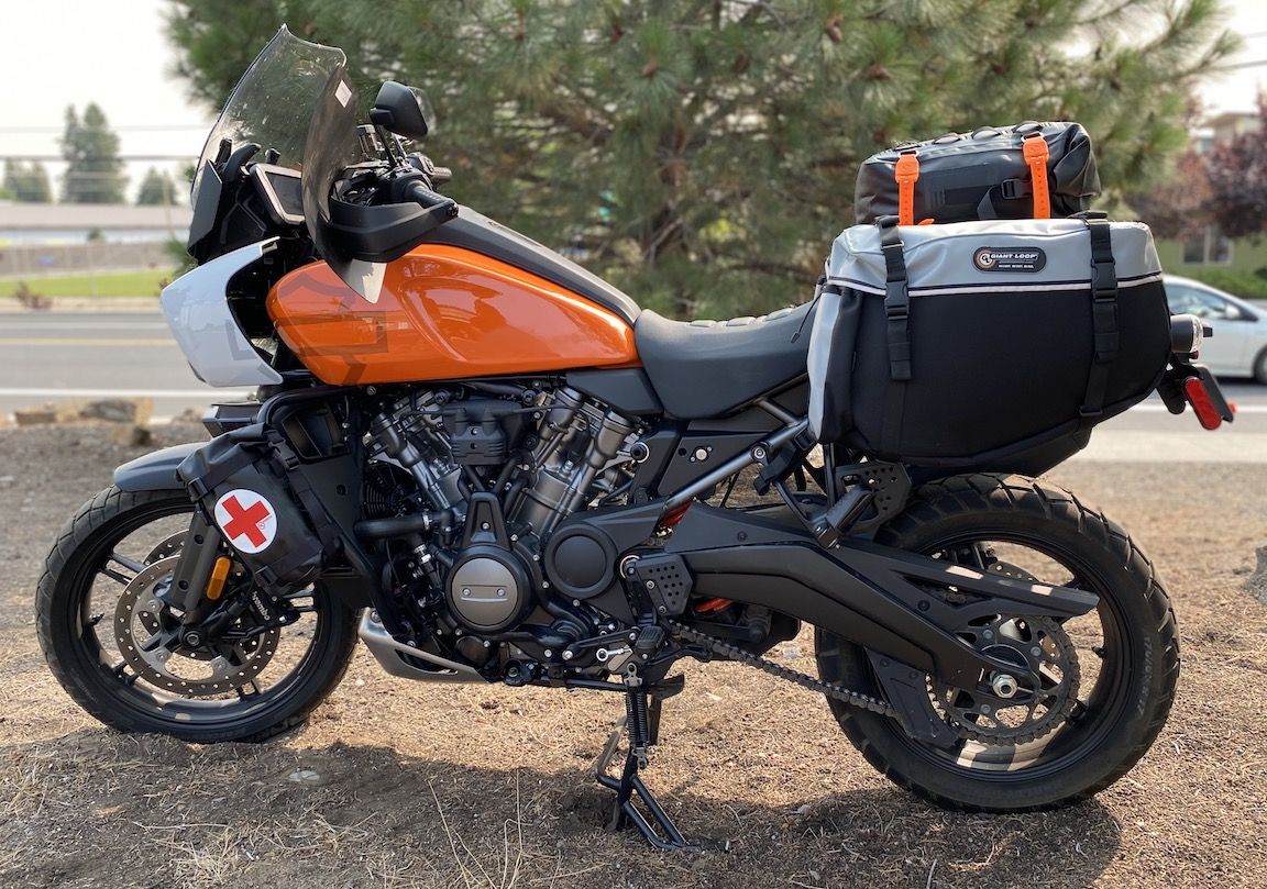 GL Fitment on the 2021 Harley-Davidson Pan America