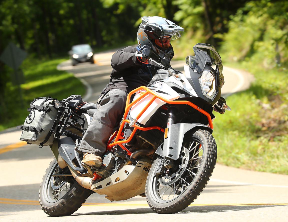 Mototrekk Panniers and Pannier Mounts on KTM 1290
