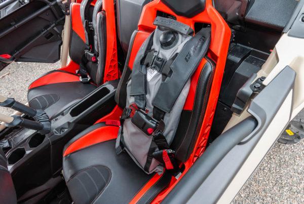 5 gallon Armadillo Bag-in UTV seat harness